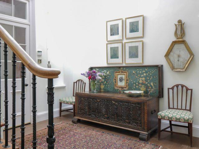Tanderlane House hallway staycation east lothian